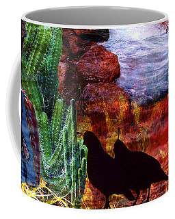 Southwest Coffee Mug by Judi Saunders