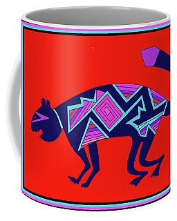 Southwest Mimbres Feline Coffee Mug