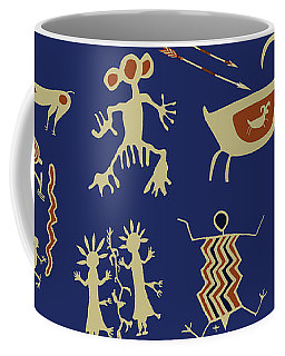 Southwest Rock Art Spirits Coffee Mug