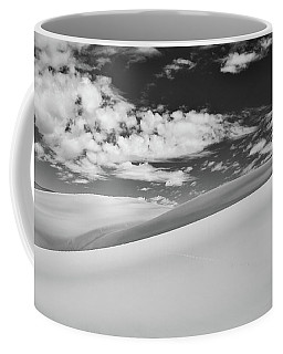 Southwest Sands Of Colorado In Black And White Coffee Mug