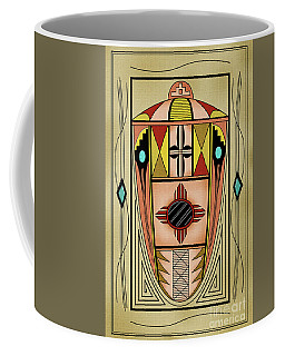 Southwest Vase Coffee Mug