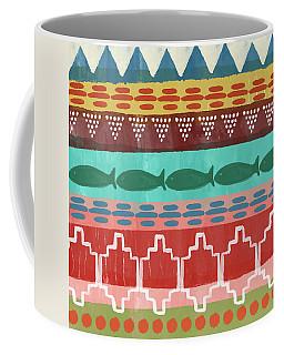 Southwest With Fish- Art By Linda Woods Coffee Mug