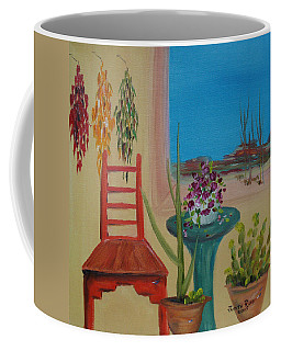 Coffee Mug featuring the painting Southwestern 6 by Judith Rhue