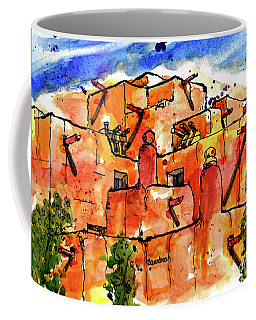 Southwestern Architecture Coffee Mug by Terry Banderas