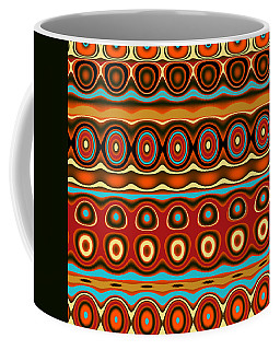 Southwestern Colors Pattern Coffee Mug by Jessica Wright