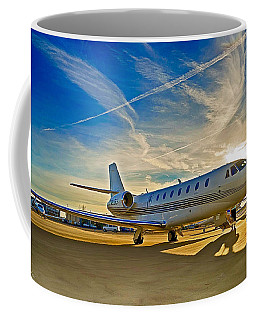 Coffee Mug featuring the digital art Sovereign Sky by James Weatherly