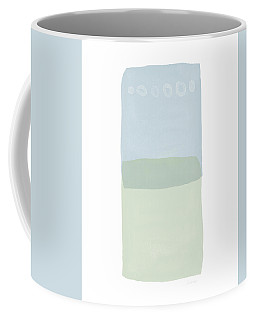 Coffee Mug featuring the mixed media Spa 1- Art By Linda Woods by Linda Woods