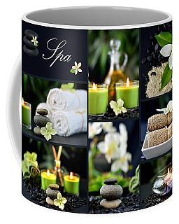 Spa Collage Coffee Mug