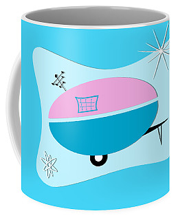 Space Age Camper Coffee Mug