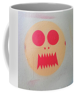 Coffee Mug featuring the photograph Space Alien by Art Block Collections