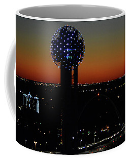 Coffee Mug featuring the photograph Space Ball by Robert McCubbin