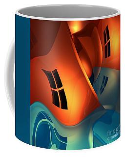Space Curvature Coffee Mug