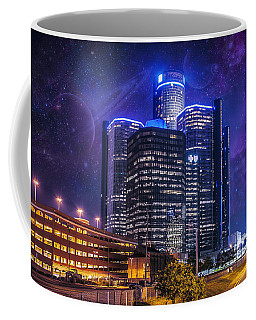 Coffee Mug featuring the photograph Space Detroit by Nicholas  Grunas