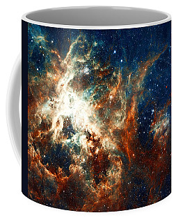 Space Fire Coffee Mug by Jennifer Rondinelli Reilly - Fine Art Photography