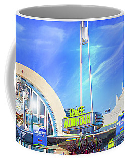 Space Mountain Entrance Panorama Coffee Mug
