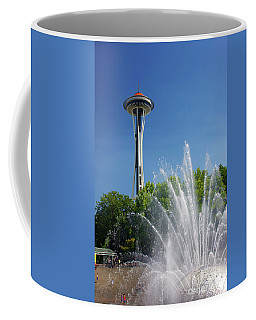 Space Needle In Seattle Coffee Mug