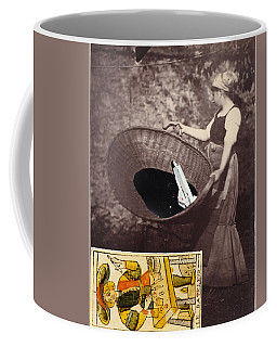 Spaced Inside Collage                                Coffee Mug by Keshava Shukla