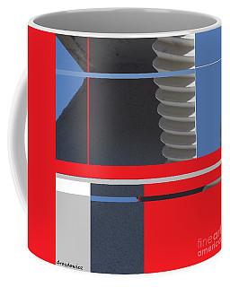 Spaceframe 1 Coffee Mug by Andrew Drozdowicz