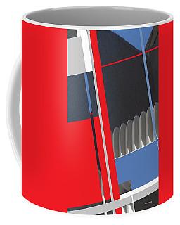Spaceframe 2 Coffee Mug by Andrew Drozdowicz