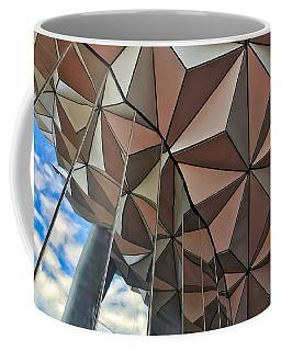 Spaceship Earth And Sky Coffee Mug