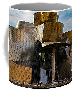 The Guggenheim Museum Spain Bilbao  Coffee Mug