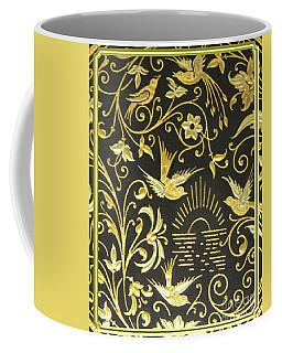 Spanish Artistic Birds Coffee Mug