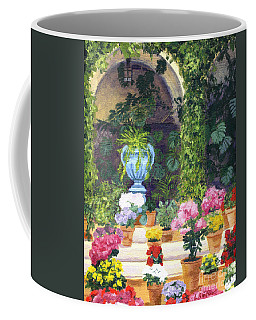 Spanish Courtyard Coffee Mug