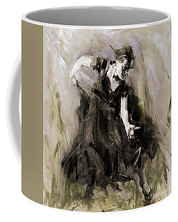 Coffee Mug featuring the painting Spanish Dancer 3400i by Gull G