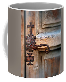 Spanish Mission Door Handle Coffee Mug by Jill Battaglia