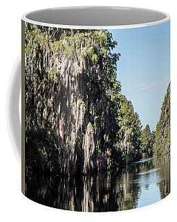 Spanish Moss Along The River Coffee Mug