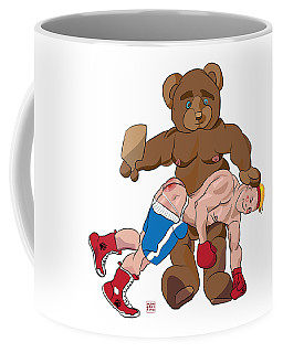 Spanking Bear Coffee Mug