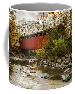 Coffee Mug featuring the photograph Spanning Across The Stream by Dale Kincaid