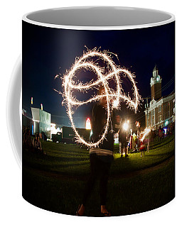 Sparkler Art Coffee Mug