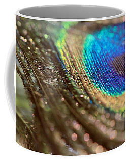 Sparkles On A Feather Coffee Mug