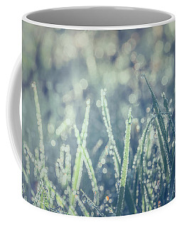 Coffee Mug featuring the photograph Sparklets by Gene Garnace
