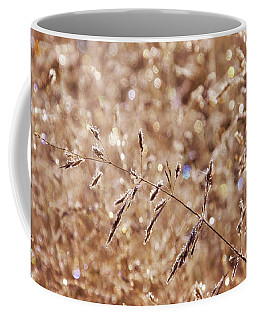 Sparkling Autumn Grasses Coffee Mug