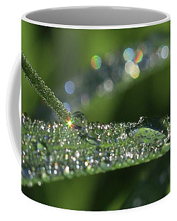 Sparkling Droplets Coffee Mug