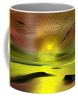 Sparkling In The Sand Coffee Mug