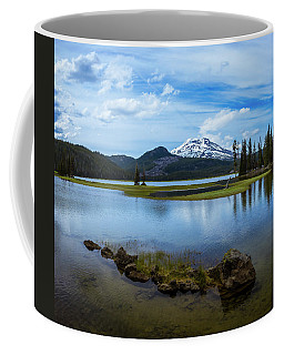 Sparks Lake, Oregon Coffee Mug