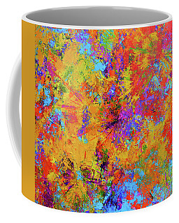 Sparks Of Consciousness Modern Abstract Painting Coffee Mug
