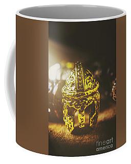 Spartan Military Helmet Coffee Mug