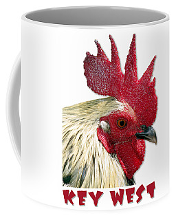 Special Edition Key West Rooster Coffee Mug