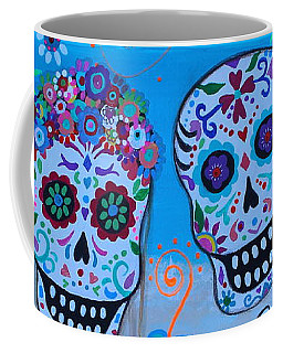 Coffee Mug featuring the painting Special Mexican Wedding by Pristine Cartera Turkus