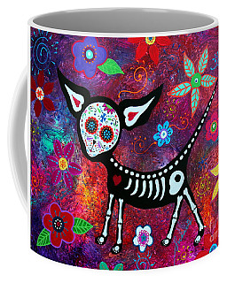 Coffee Mug featuring the painting Special Perrito by Pristine Cartera Turkus