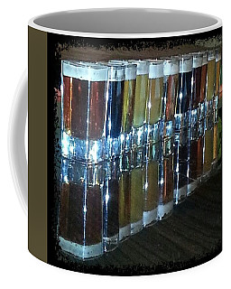 Specialty Beer Sample Shots Coffee Mug
