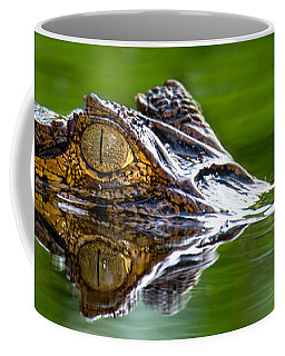 Spectacled Caiman Caiman Crocodilus Coffee Mug