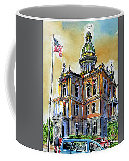 Spectacular Courthouse Coffee Mug