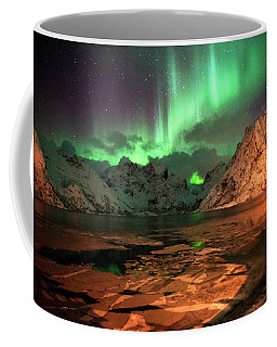 Spectacular Night In Lofoten 1 Coffee Mug