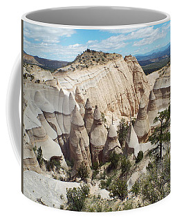 Spectacular Slot Canyon Trail View-at-the-top Coffee Mug by Cindy Croal