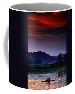 Spectral Crossing Coffee Mug